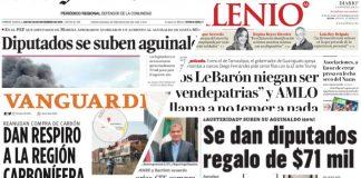 Coahuila informa portadas del estado red es poder