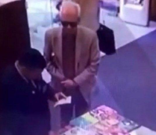 Video Sorprenden al Embajador de México en Argentina robando un libro red es poder