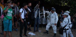 Pide ONU a México evitar uso de fuerza contra migrantes red es poder