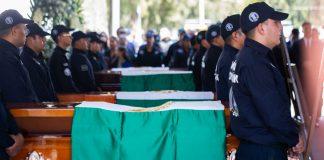 Un total de 442 policías asesinados en el 2019; Coahuila promedia 8 muertes de oficiales