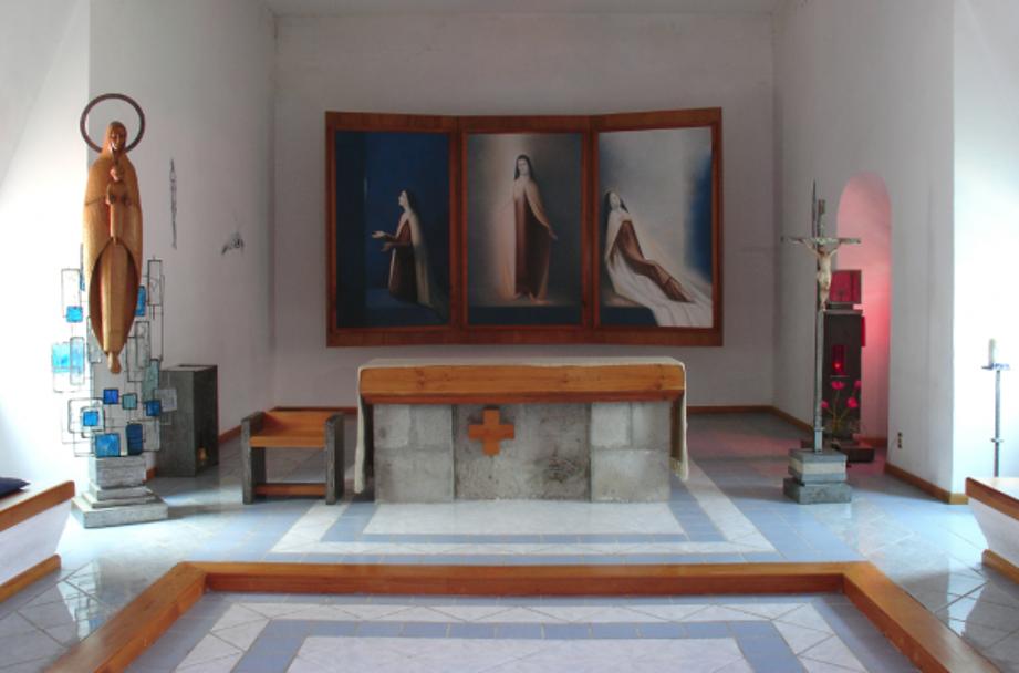 Par de Capillas, Convento de San Joaquín, Ciudad de México. Imagen tomada de Internet