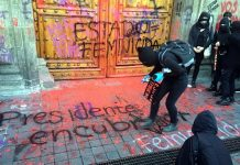 Protestan en Palacio Nacional contra feminicidios red es poder