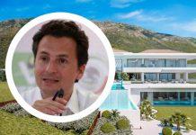 Revelan que en mansión de cien millones de pesos, Emilio Lozoya estaba escondido
