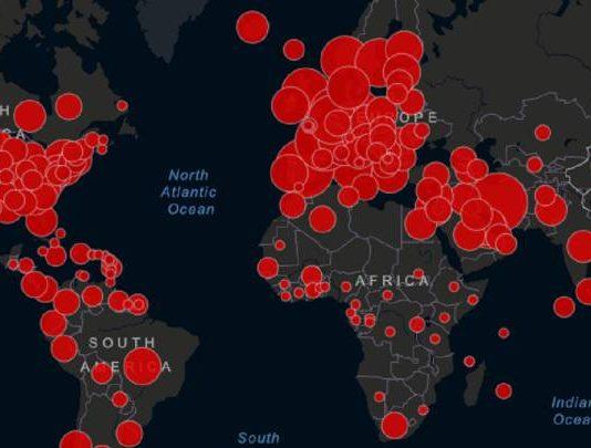 Cifras, contagios e impacto del coronavirus en el mundo red es poder