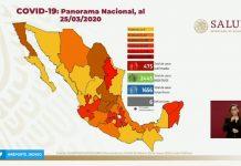 Suma México 475 casos confirmados 6 defunciones por coronavirus red es poder