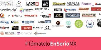 Más de 40 medios digitales de México se unen en la iniciativa #TomételoEnSerioMX red es poder