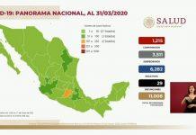 México arriba a 1,215 casos y 29 defunciones por coronavirus red es poder