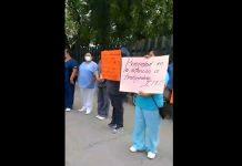 (VIDEO) Personal del IMSS en Acuña protesta por falta de insumos red es poder