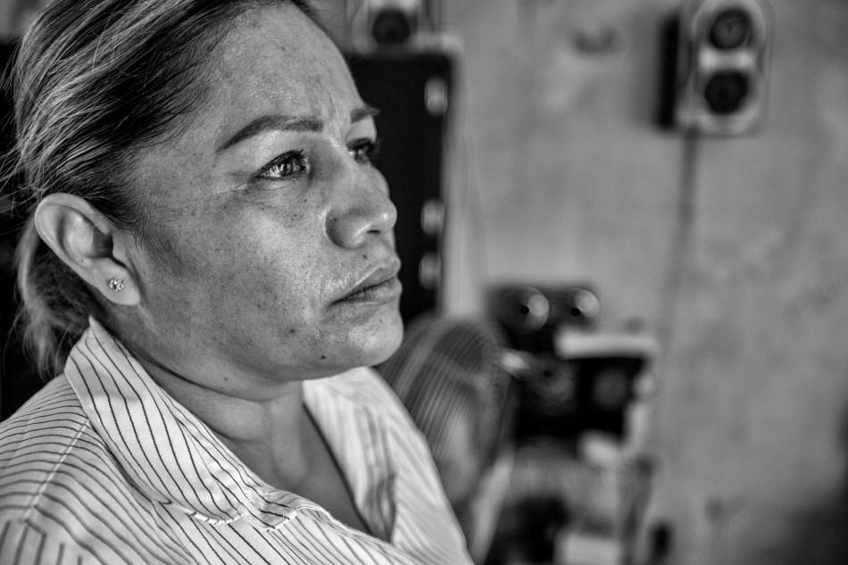 En su búsqueda, Marcela perdió su casa, trabajos y perdió el sueño.