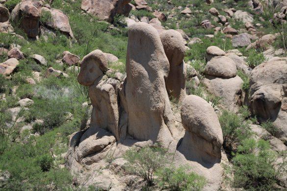 La piedra del Chapulín.