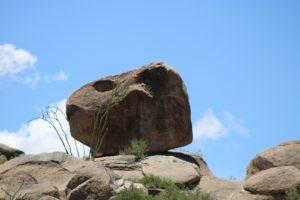 Piedra en la Comarca Lagunera