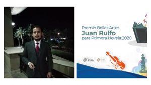 Escritor lagunero gana el Premio Bellas Artes Juan Rulfo de Primera Novela red es poder