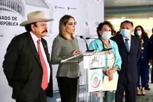 (VIDEO) Senadores piden intervención de AMLO para rescate de AHMSA red es poder