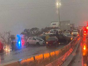 Lluvia genera caos y carambolas en Torreón red es poder