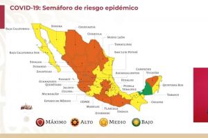 Coahuila sube a semáforo naranja por alza en contagios red es poder