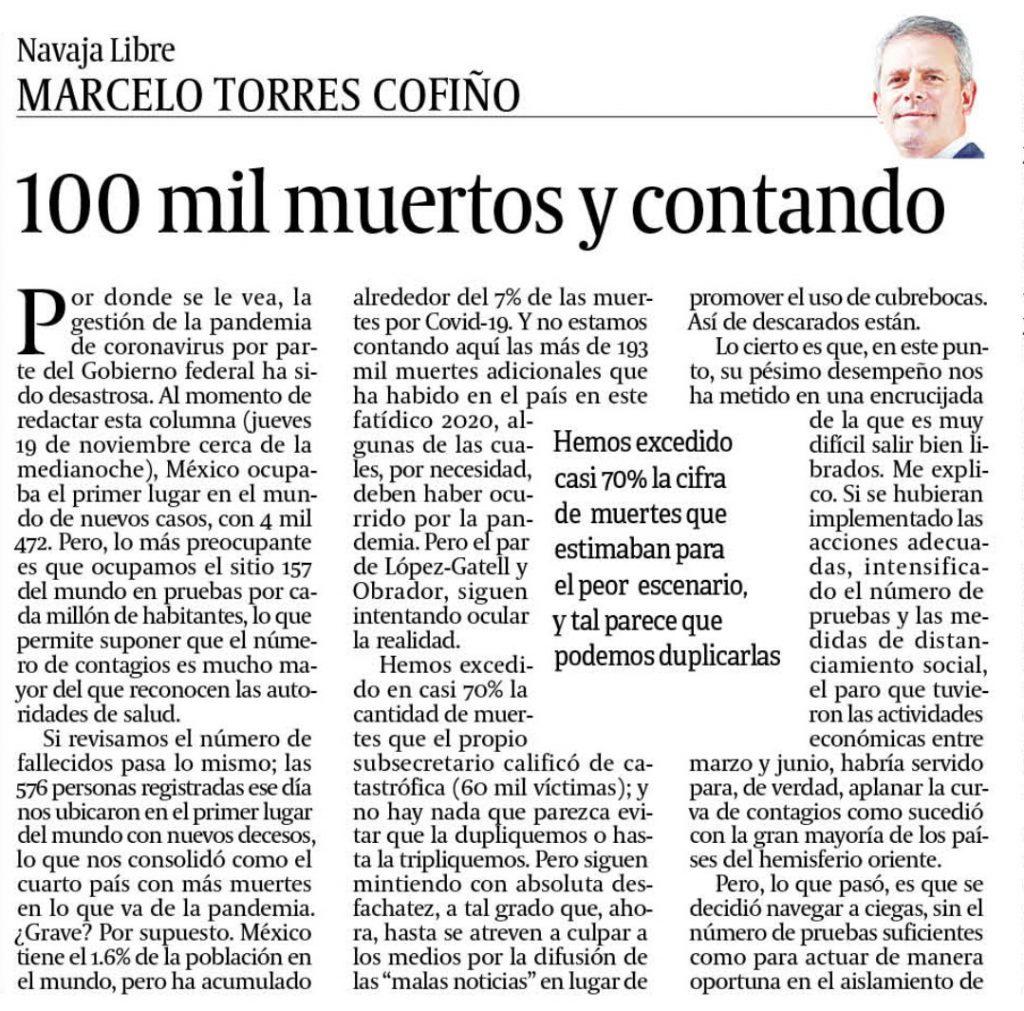 Columna Marcelo Torres
