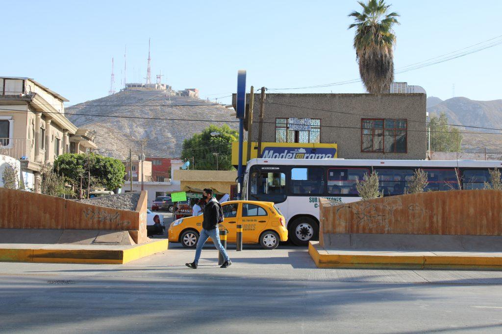 Cruce peatonal Calle Prolongación Cepeda, Colonia Antigua Aceitera Red es Poder