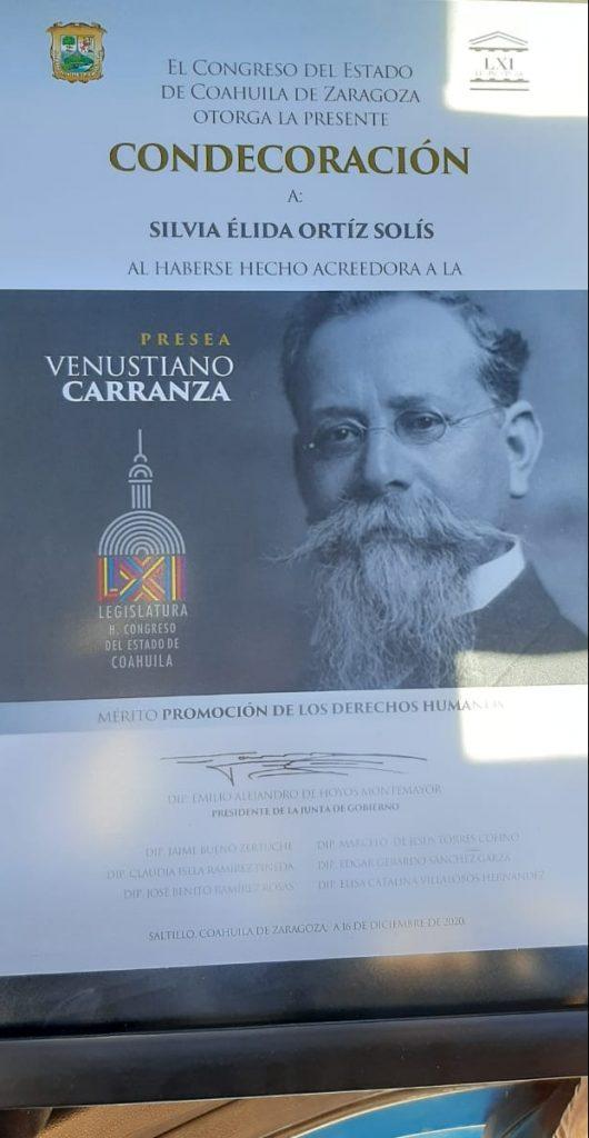 Presea Venustiano Carranza