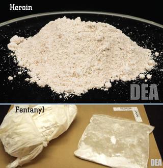 fentanilo y heroína