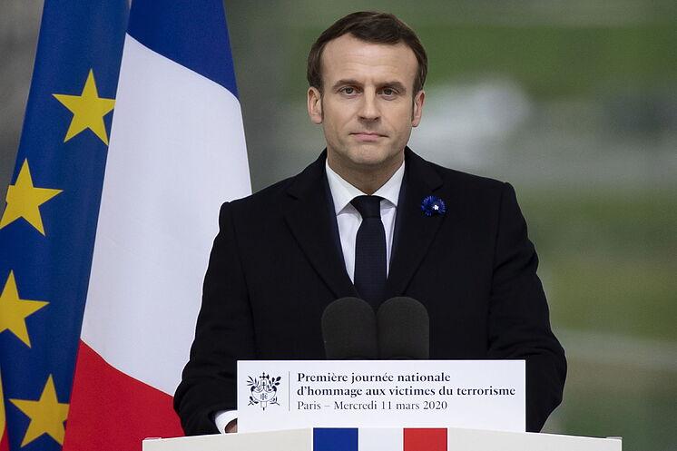 Emmanuel Macron red es poder