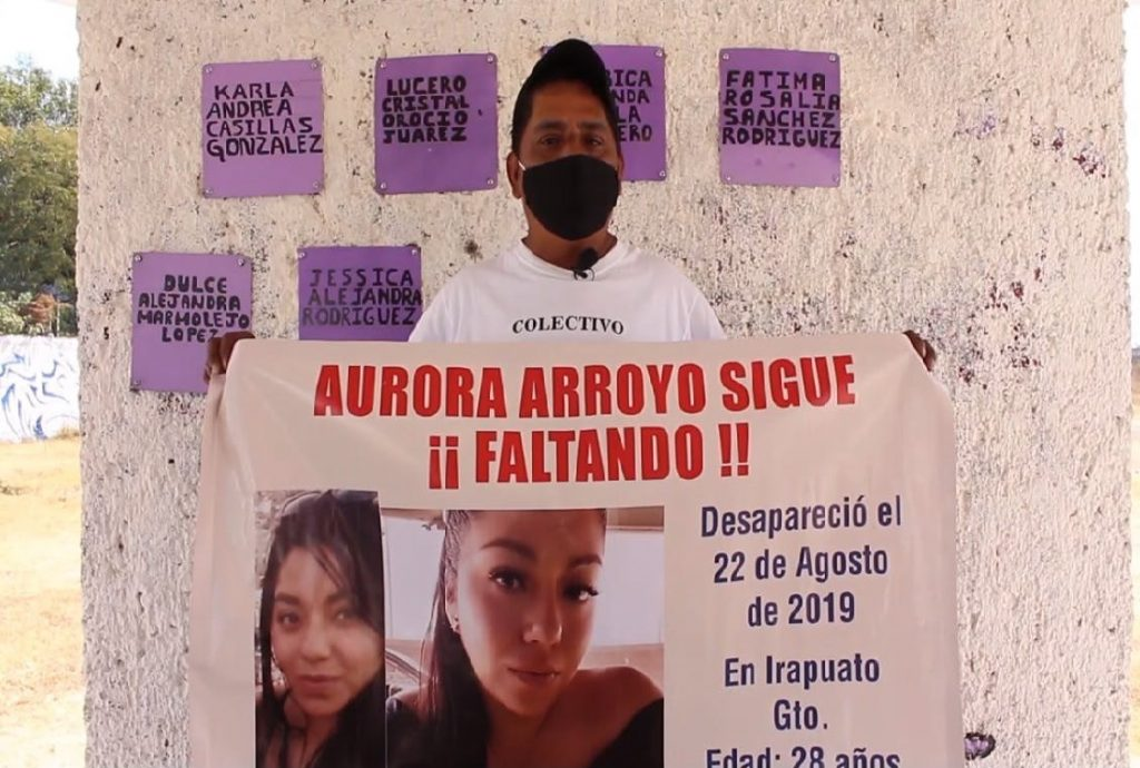 Eduardo Rafael Arroyo Pacheco, padre de Aurora Arroyo, mujer desaparecida en Guanajuato. Foto: ZETA Tijuana.
