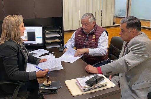 """Amador Rodríguez Lozano, secretario General de Gobierno, denuncia penalmente al ex gobernador """"Kiko"""" Vega. Cortesía."""
