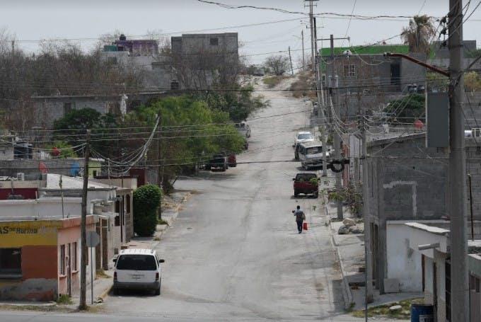 Barrio en Monclova donde creció Javier.