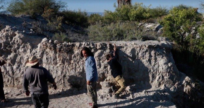 Ejidatarios destruyeron el gavión con el que se pretendía abrir un embalse que recargara del humedal.