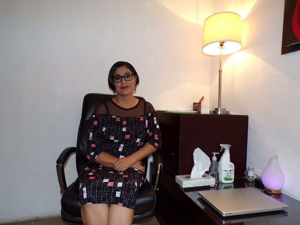 Diana Torres, neuropsicóloga clínica y tanatóloga.