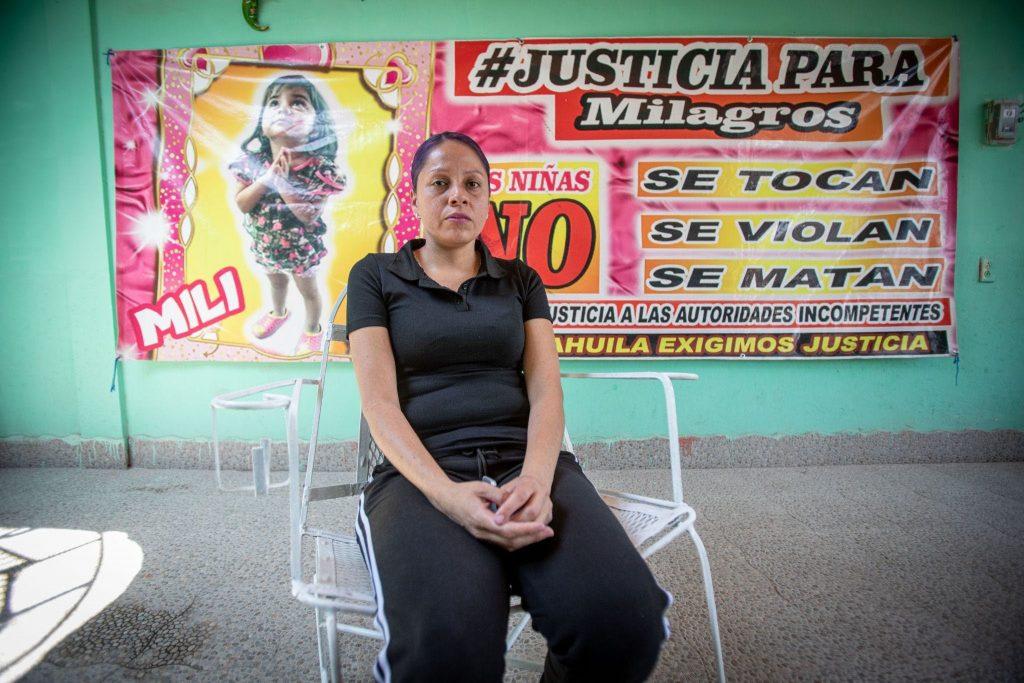 Deisy Carolina Ramírez no cesará su lucha por conseguir verdadera justicia para su hija asesinada. Foto: Iván Gutiérrez