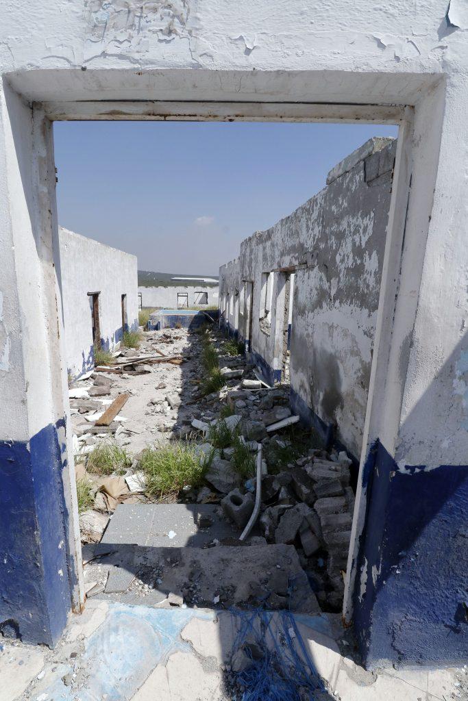 Estos cuartos fueron testigos del horror que vivieron las mujeres que no alcanzaron a huir de los militares.