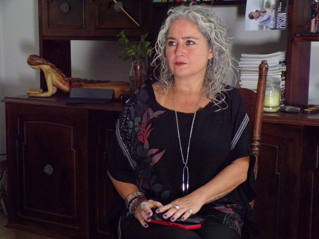 Jaqueline Campbell, activista de derechos humanos.