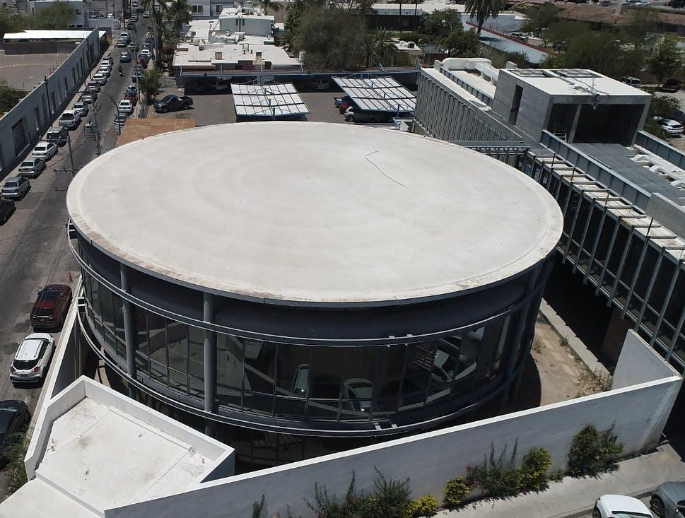 La expectativa del Instituto Sonorense de Cultura es que la empresa que actualmente trabaja en la construcción finalice en septiembre. Crédito: Angel Coronel