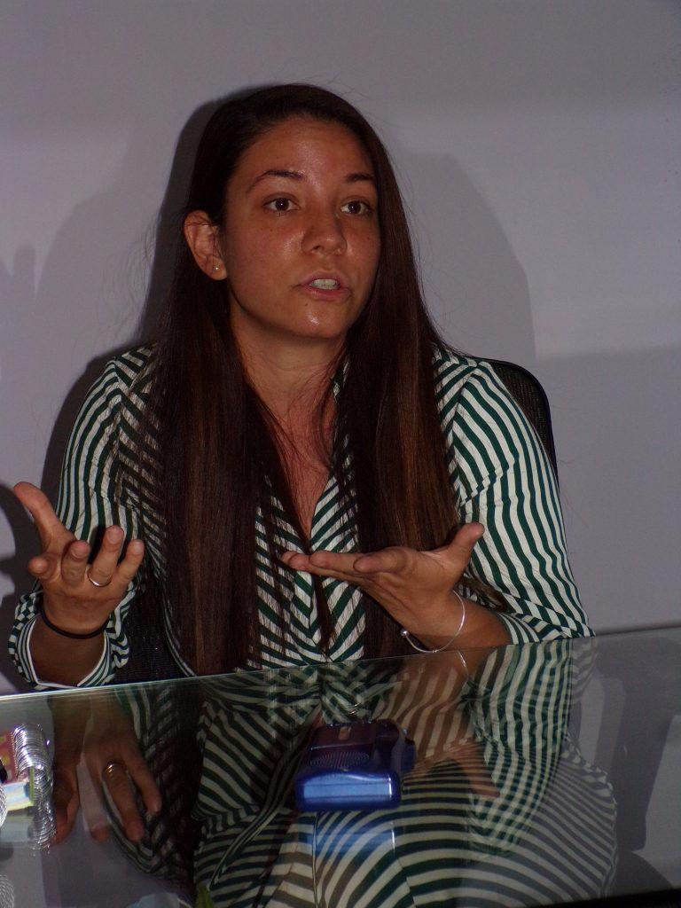 María Karla Lara Men, maestra en psicología clínica con acentuación en terapia cognitiva conductual.