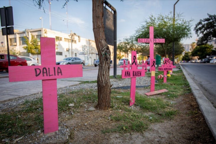El colectivo Madres Poderosas de Torreón ha exigido que todos los casos de sus integrantes tomen el camino del juicio oral y no del procedimiento abreviado. Foto: Iván Gutiérrez.