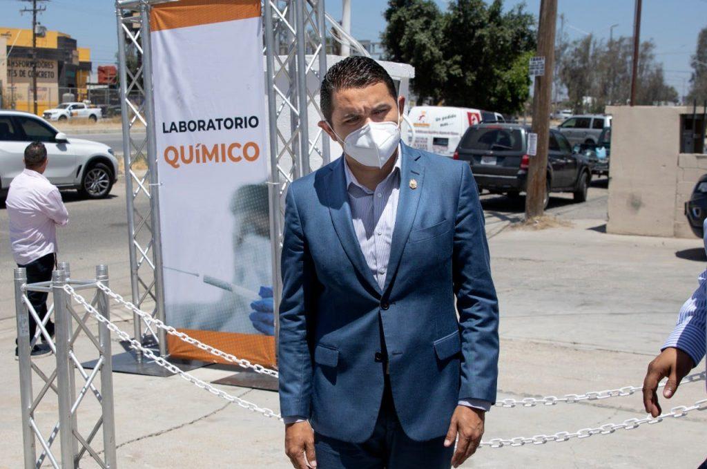 Alonso Pérez Rico, secretario de Salud de Baja California, no investiga ni da de baja a funcionarios que firmaron convenios bajo investigación. Crédito: Eduardo Jaramillo.