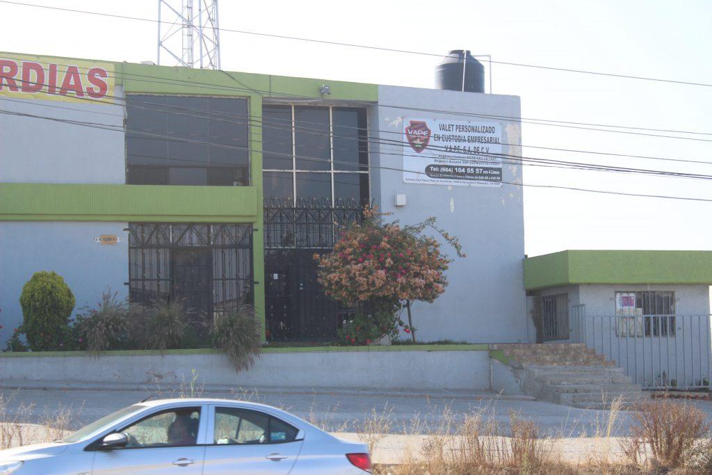 Oficinas de VAPE ubicadas en Tijuana. Crédito: Ángel Gabriel Morales.